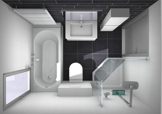 Badkamer efficiënt indelen