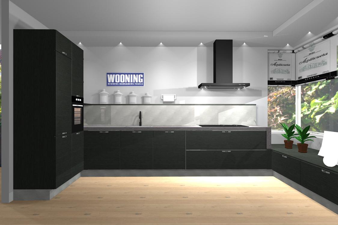 Keuken Open Tegels : Maak een 3d ontwerp van jouw keuken wooning