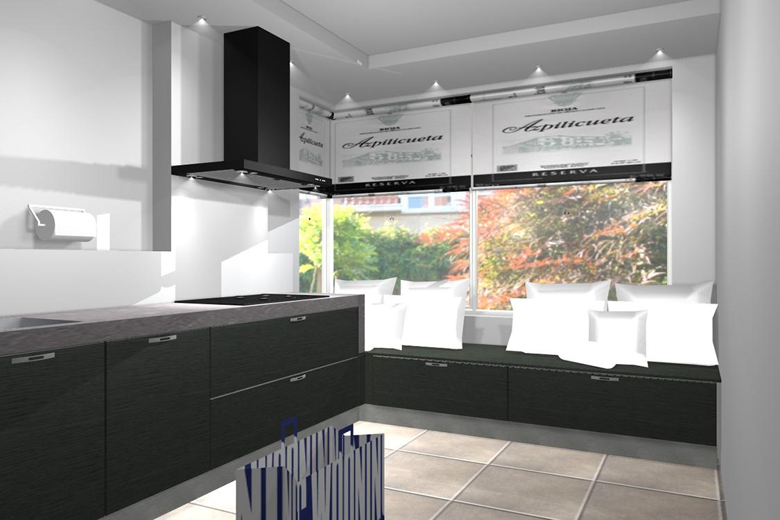 D ontwerp van jouw keuken of badkamer wooning