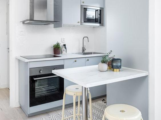 Kleine keukens wooning