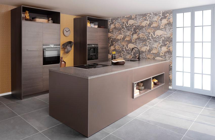 Open keuken Wooning