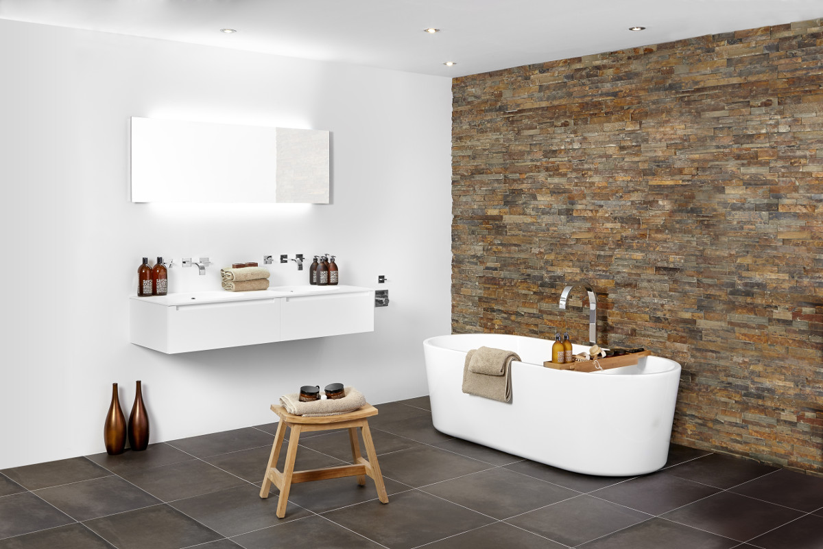 Landelijke badkamers: warm en sfeervol - Wooning