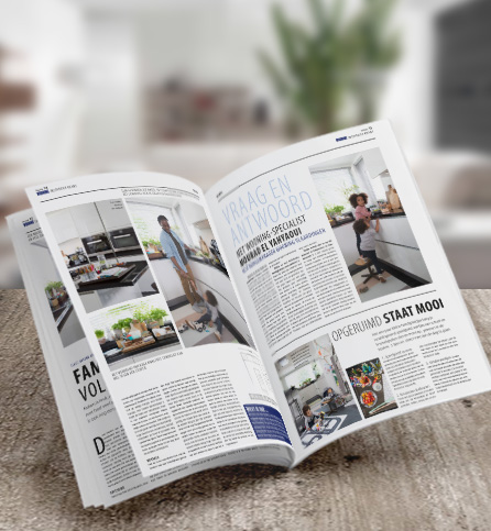 Keuken en badkamer magazine aanvragen - Wooning