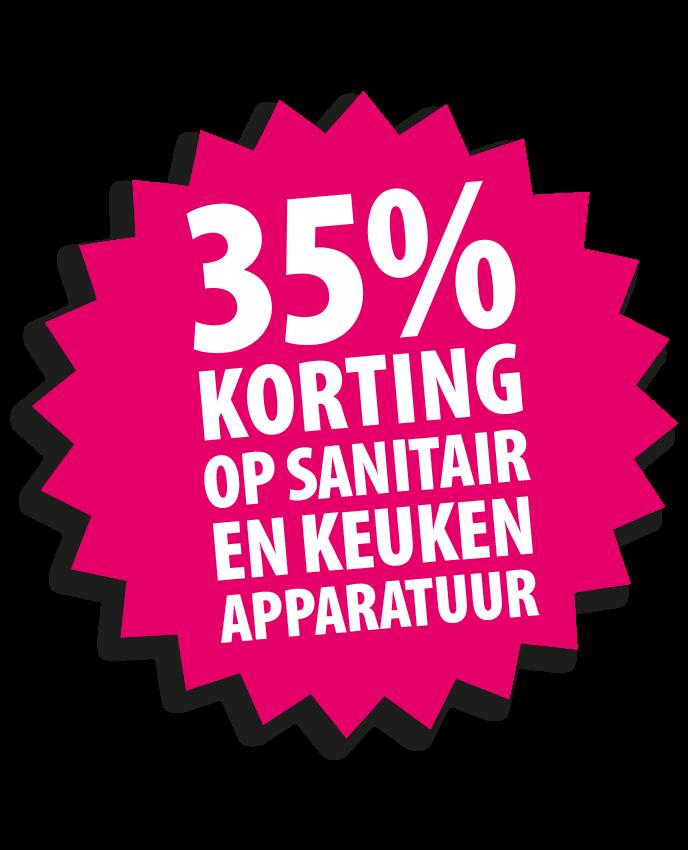 35% korting