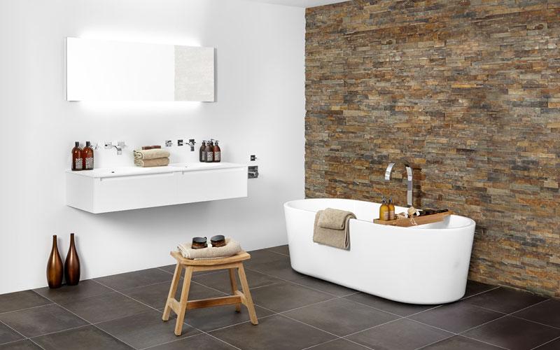 Open en-suite badkamer