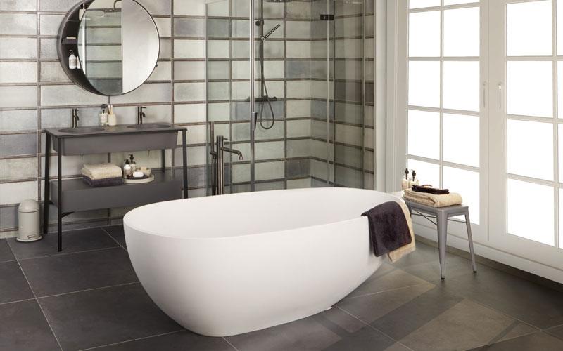 Badkamer Vrijstaand Bad : Badkamer voorbeelden met een vrijstaand bad