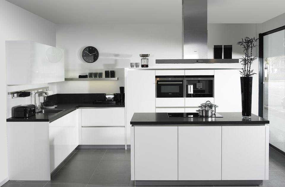 Zwart/witte G-keuken