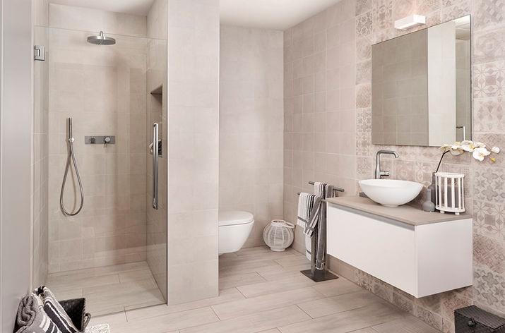 Kleine badkamers bij Wooning