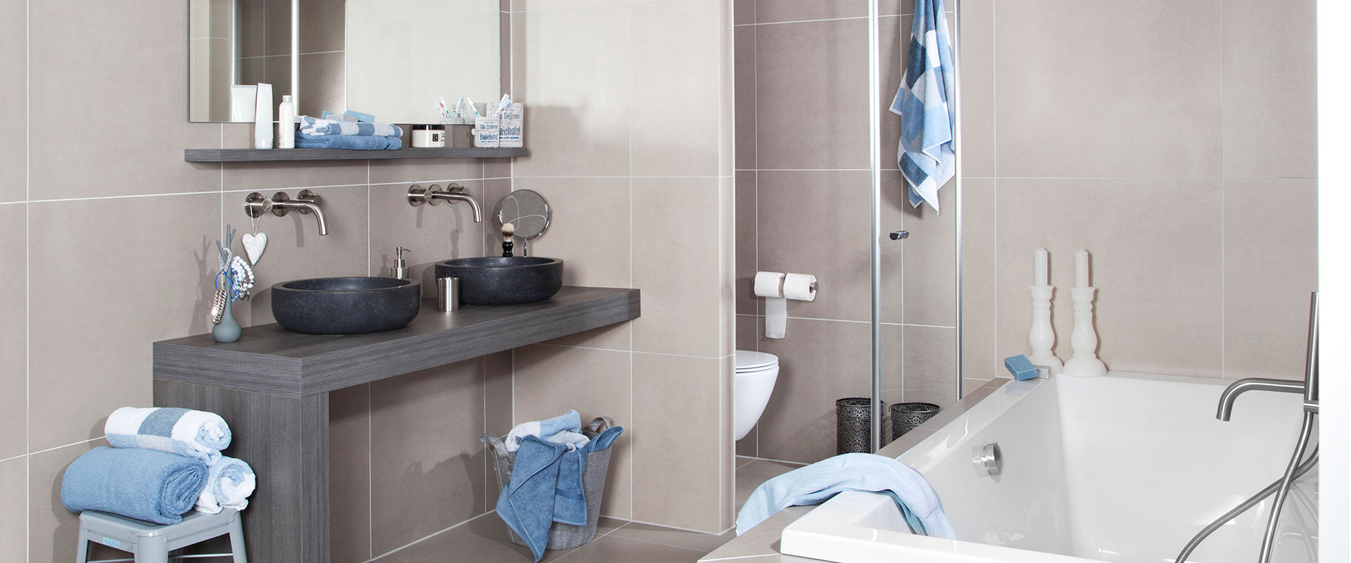 Kleine badkamer inrichten - Tips