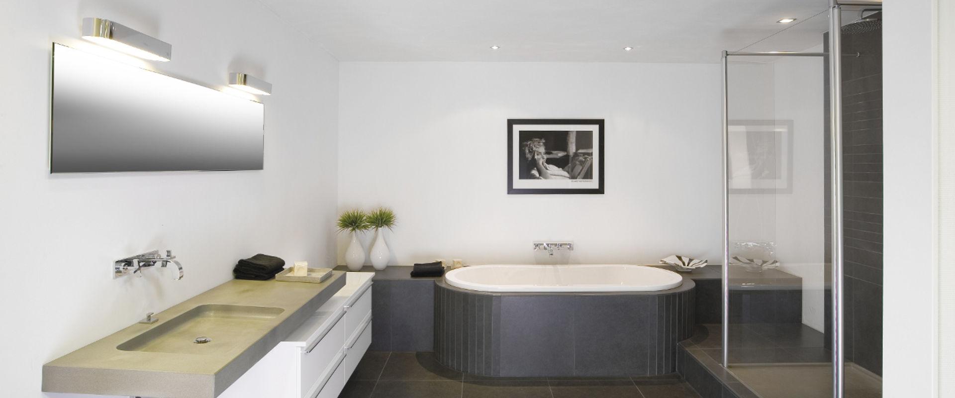 Moderne badkamer - Wooning