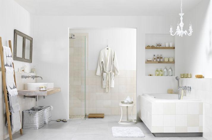 Landelijke Badkamers Voorbeelden : Landelijke badkamers wooning