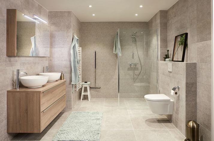 Budget Badkamer Nuenen : Badkamercollectie van wooning
