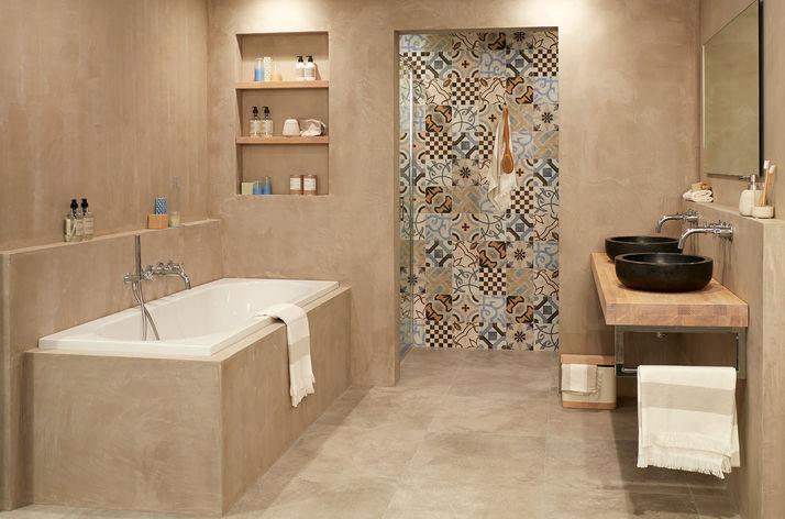 Landelijke badkamers wooning