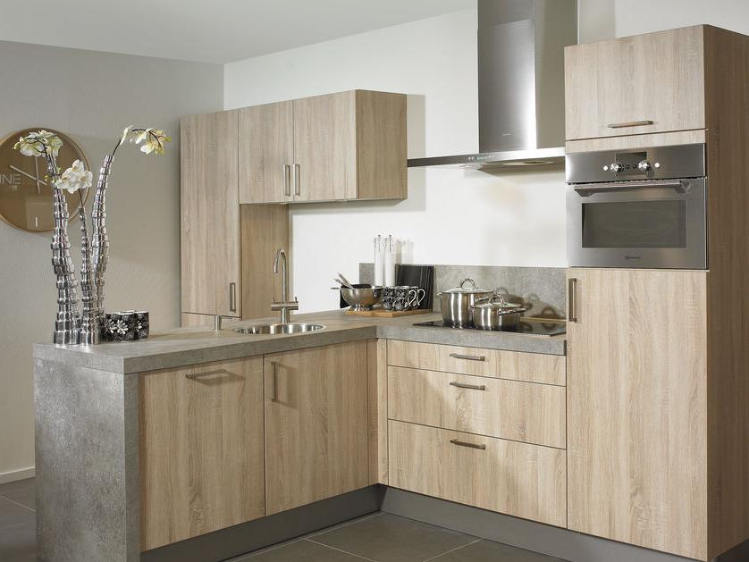 houten keuken industrieel