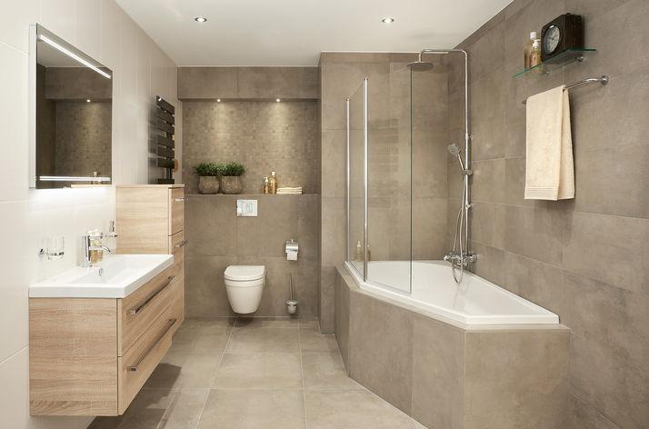 Moderne badkamer wooning