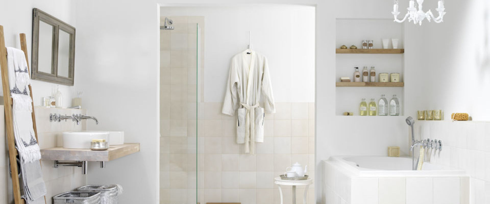 Ontdek onze showroombadkamers | Wooning