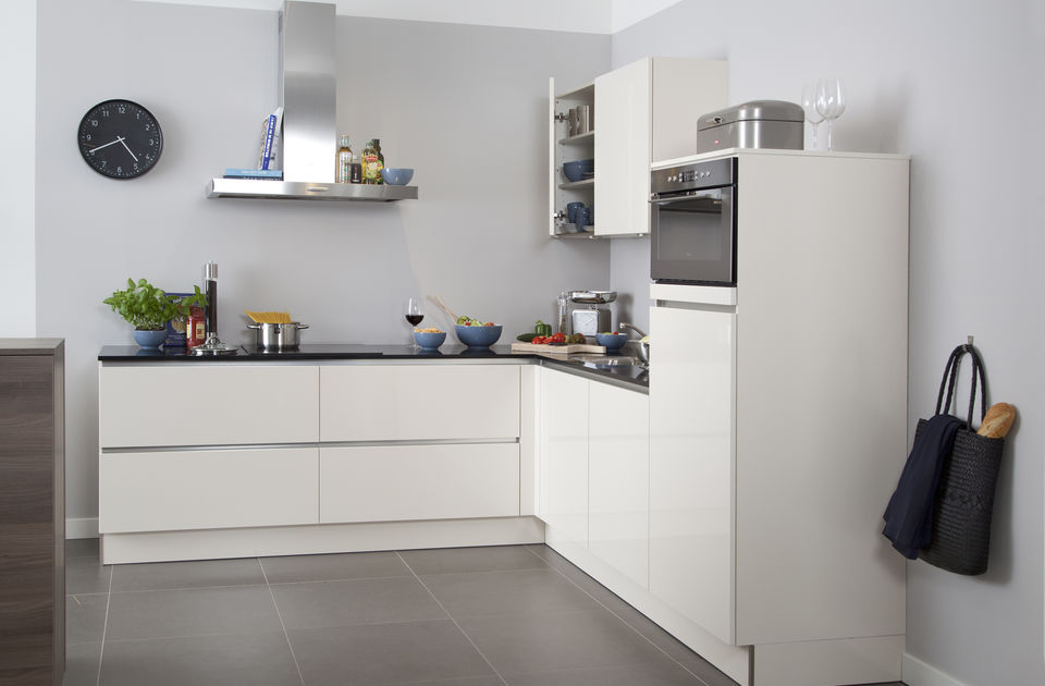 greeploos modern keuken