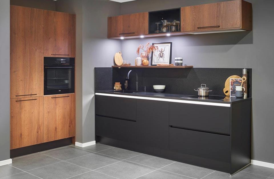 Antraciet design keuken