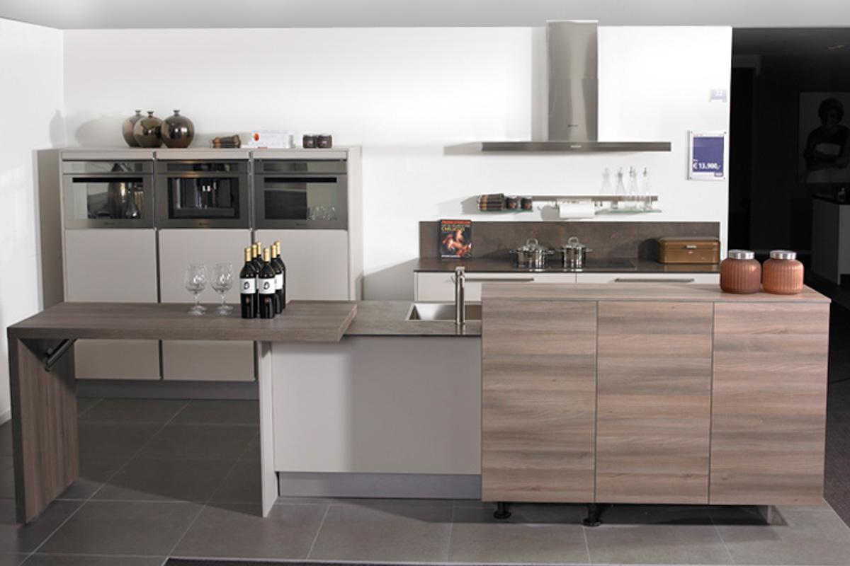 een parallel keuken voor veel opbergruimte