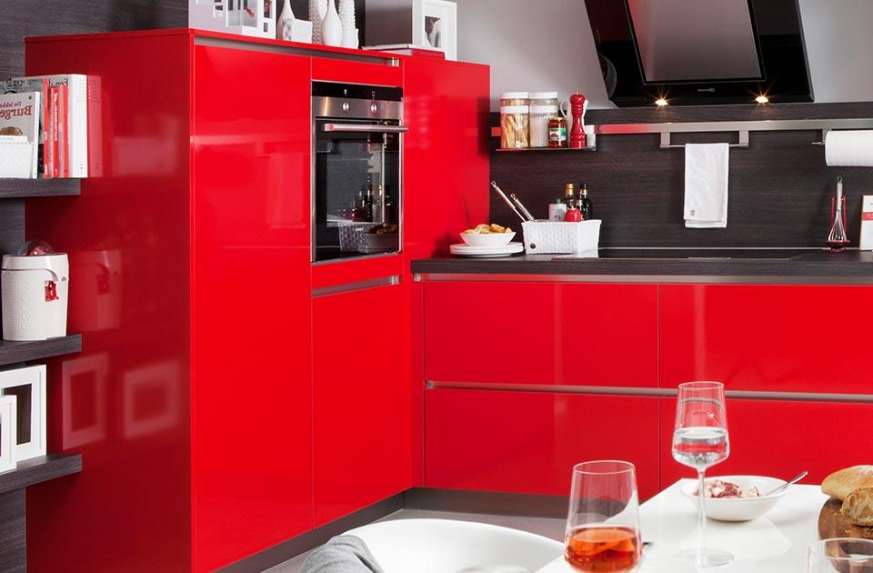 Greeploze rode keuken